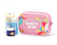 Free shipping 2014 new pink cute brand name catoon Makeup bag wash gargle bag  for girls storage cosmetic bags HZB081