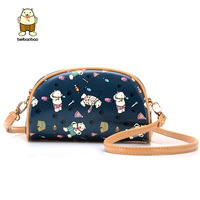 Small bag 2014 fashion cartoon bear women's handbag one shoulder cross-body small