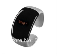 Free shipping 2014 Bluetooth Bracelet watch with multi-function answer call,Play music,Cell phone anti-theft ,Time