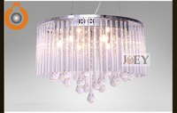 Modern crystal pendant lighting Simply style Dining room light  Chrome Luxury Hotel lamp Guaranteed 100%+Free shipping 9039-410