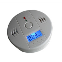 free shipping Home Security Safety CO Gas Carbon Monoxide Alarm Detector CE/RoHs/EN50291 With Retail Box