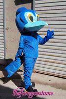 blue bird adult size   hot sale, free ship , Mascot Costume, cartoon , Halloween cosplay Dress