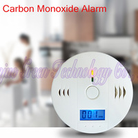 10PCS/LOT With Retail Box Home Security Safety CO Gas Carbon Monoxide Alarm CO Detector CE/RoHs/ free shipping