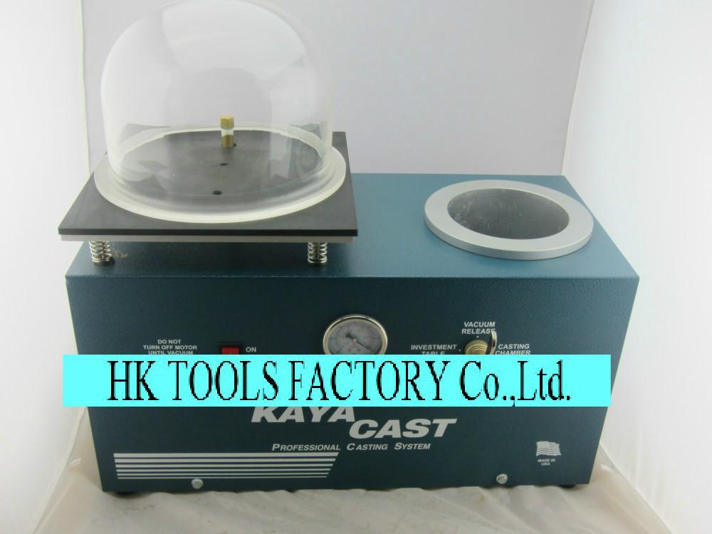 FREE SHIPPING acuum casting machine, Kaya vest jewelry vacuum casting machine,mini kaya jewelry casting whole set(China (Mainland))