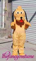 1472 orange dog Pluto  adult size  hot sale, free ship , Mascot Costume, cartoon , Halloween cosplay Dress