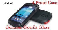 Original Love Mei Powerful Dirt/Drop/Shock/Waterproof Metal Case For Galaxy S4 SIV i9500 S3 With Gorilla Glass
