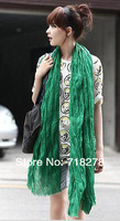 Free shipping(12 pieces/pack) 170x95cm Cotton&Jute  solid color  Scarf/women tippet HOT SALE!!