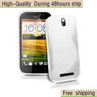 New Soft TPU Gel S line Skin Cover Case For HTC ONE SV T528t One ST Free Shipping UPS DHL EMS HKPAM CPAM FJETP-1