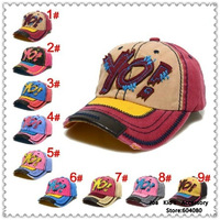 Hot Sale Children Baseball Hats,Kids Letters Pattern Hip Pop Caps,Kids Accessories,TM025+Free Shipping