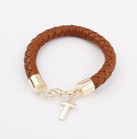 2014 New Fashion Leather  retro wild Bracelet cxt95165