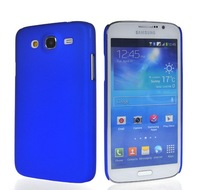 "Hard Rubberized Rubber Coating Litchi Skin Devise Back Case Cover for Samsung Galaxy Mega 5.8"" i9150 FREE SHIPPING"