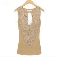 The new spring and summer 2014 women's XL sleeveless camisole straps bottoming shirt