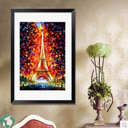 2014 pinturas New DIY diamante mosaico de parede imagem para sala de estar Paris torre Eiffel Home Decor ponto cruz bordados(China (Mainland))