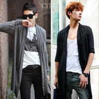 2014 Hot Mens Long Sleeve Cardigan,Males Pull style cardigan Clothings Fashion Sweaters