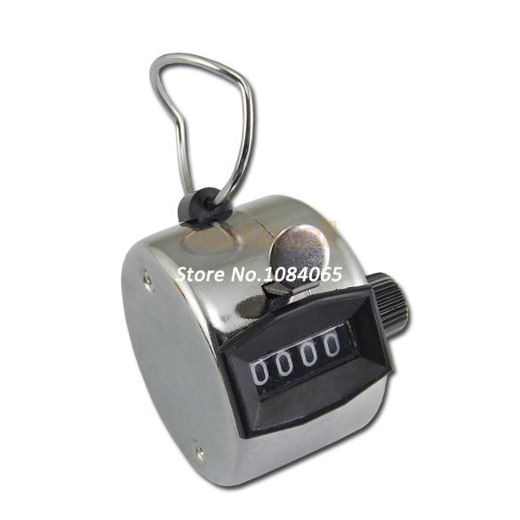 2014 Hand held Tally Counter 4 Digit Number Clicker Golf dropshipping 1359(China (Mainland))