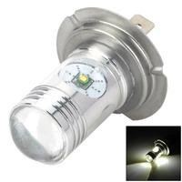 H719603 H7 12W 670lm 4-CREE XP-E LED White Light Car Foglight - (DC 12~24V)