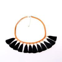 Free Shipping 3PCS/Lot fashion gorgeous Statement necklace fringe chokers necklace promotion N1335-032