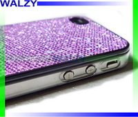 High Quality Plastic Hard Shell Glittering Flash Powder Series Case For Iphone5 5G