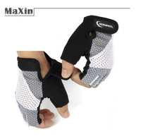ROSWHEEL  Cycling Gloves  Half Finger  Bresthable cycling hiking slip  Fingerless Gloves Free shipping