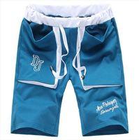 New 2014 casual sports shorts men high quality men's beach shorts boardshorts summer casual shorts plus size M-6XL black gray