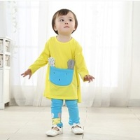 Lovely Baby Set  For Girl Spring And Autumn Wholesale And Retail With Free Shipping