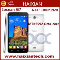 iOcean G7 6.44 Inch 1920x1080 Corning Gorilla Glass MTK6592 Octa Core Cell Phone 2GB + 16G 13.0MP Camera Smartphone