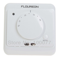 New FLOUREON Manual Heating Thermostat LED Indicator 16A Floor Temperature Controller Room Thermometer Free Shipping