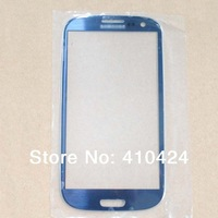 Outer Screen Lens Glass Replacement for Samsung Galaxy SIII S3 i9300 Blue