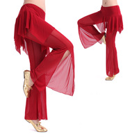 2014 Real Limited Freeshipping Women Modal All Code Bellydance Belly Dance Clothes Square Trousers Yarn Culottes K99