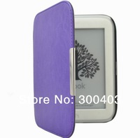 For Noble 2014 nook simple touch 4th glowlight ebook reader Protective Magnet Folio slim PU leather cover case Shell Skin