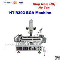 Ship from UK, no tax! HT-R392 220V  Infrared & hot air BGA rework station ,upgrade from R390 BGA Machine