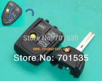 Replacement For VOLVO XC70 XC90 S40 S60 S70 S80 S90 V40 V70 V90 C70 Modified Flip Folding Remote Key Shell  FOB 3+1 Button