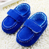 Soft bottom sapphire baby toddler shoes