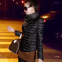 2015 vogue женщины дамы Женская длинный рукав ломаную лацкане туника случайные пеплум пальто пиджак вершины одежда костюм s-l