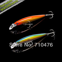 Hot-selling,6colors Fishing bait 85CM/6G Proberos style laser Minnow fishing lures,6pcs/lot fishing tackle free shipping