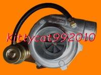 TURBO GT2860 turbine a/r .49 rear Compressor a/r 0.60 water&oil T25 T28 5 Bolt cooled 180-320hp Internal Wastegate turbocharger