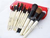 100% High quality goat hair Makeup Brush (15pcs/set) Free shipping ! AS-12