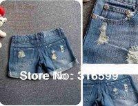 Free Shipping Promotion Lady Denim Shorts,Women's Jeans Shorts,Hot Sale Ladies' Short Pants PlusSize: 26-30 WJ002