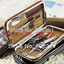 David jewelry wholesale A1 six pieces set  beauty set  gift set nail art make-up manicure set nail kit nail scissors