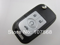 Free shipping buick excelle 4 button  car remote folding key case