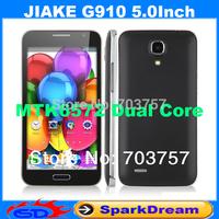 JIAKE G910 Phone With MTK6572 Dual Core Android 4.2 WIFI 5.0 Inch Capacitive Screen Smart Phone PK JIAYU F1
