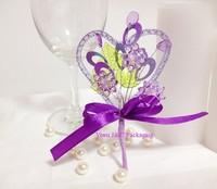 FREE SHIPPING--20pcs Purple Wedding Decoration Flower,DIY Party Decoration,DIY Flower (JCO-F16)