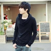 Free shopping  Winter New Korean fashion Korean wild high collar Slim sweater bottoming shirt wholesale