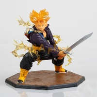 Anime  Dragon ball  TRUNKS  Action Figure Toy Collection figure  PVC Room Decoration Free shipping