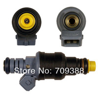 Blue High performance low impedance 1600cc/min fuel injector 0280150842  EV1 for Bosch/Minitimer connector, 14mm o-ring