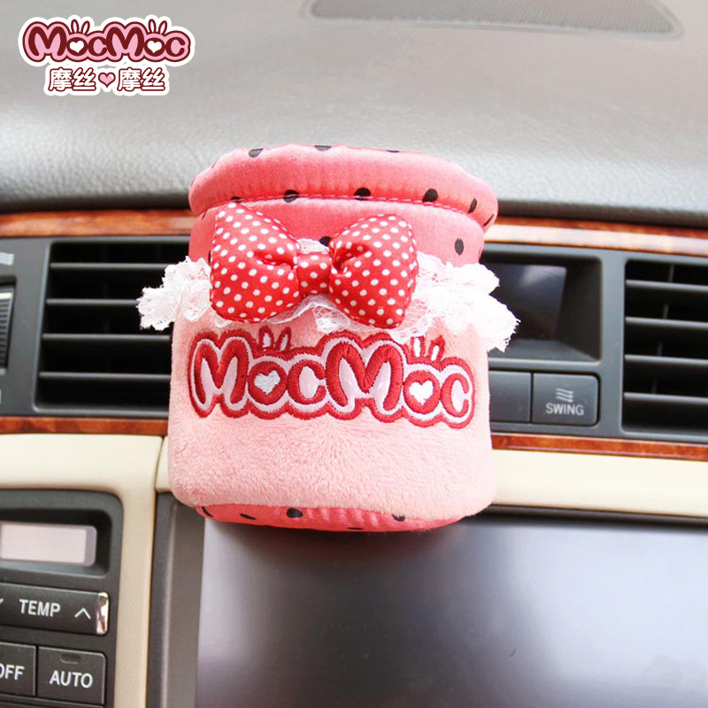 Saw doll pink dot outlet zhiwu dai car cell phone pocket car storage bag car bag(China (Mainland))