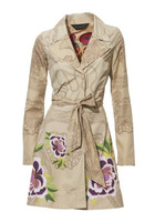 New 2014 Brand Desigual Casual Womens Spring Dress / Coat /  Jacket / Trench Size 36 38 40 42 44 46