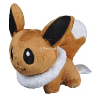 "Free shipping 5"" Eevee Plush Doll Around 12cm"