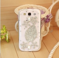 luxury bling diamond rhinestone Crystal mobile phone case cover for samsung galaxy s3 SIII i9300 case