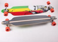 Professional long board skateboard dchong plus size skateboard plate